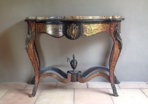 Console boulle